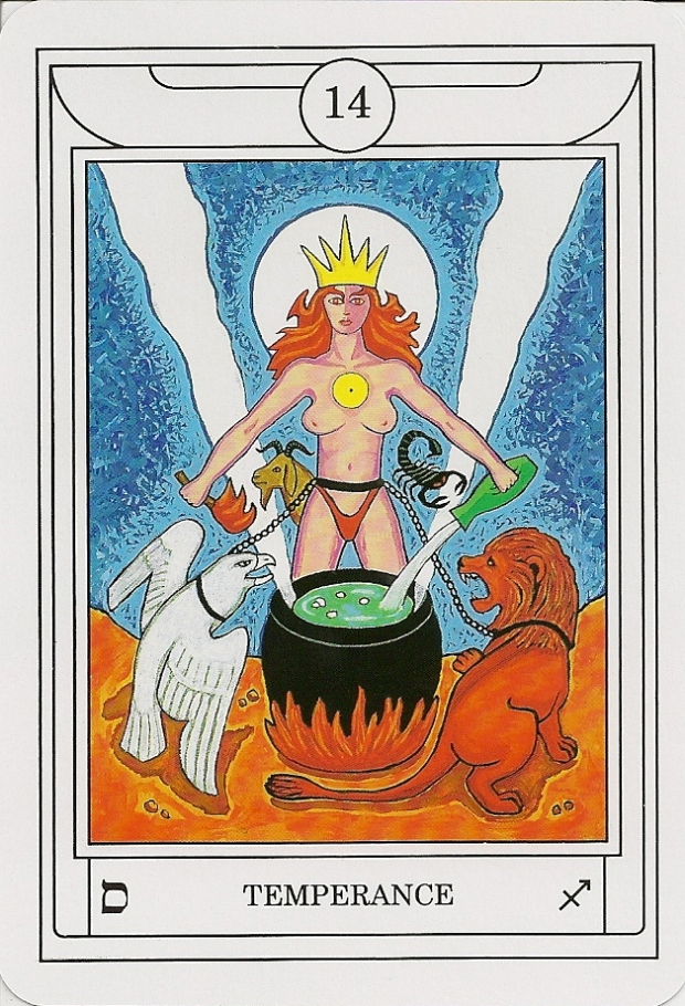 GD TAROT_Temperance Red