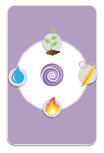 element cards tin