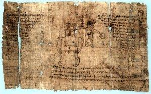An Egyptian magical book