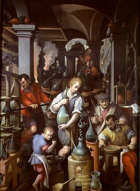 alchemists workshop