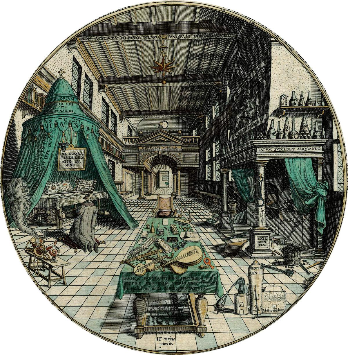 Laboratorum of Heinrich Kunrath